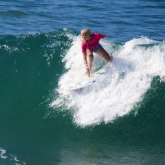 Bethany Hamilton competing in the US Open 2008 in HB.