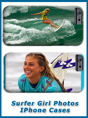 Surfer Girls Phone Cases