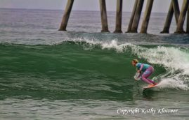 Laura Enevers at the 2012 US Open of Surfing