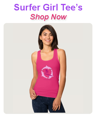 Surfer Girl Tee's