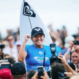 Stephanie Gilmore Wins Roxy Pro Australia