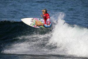Sage Erickson surfing at Los Cabos
