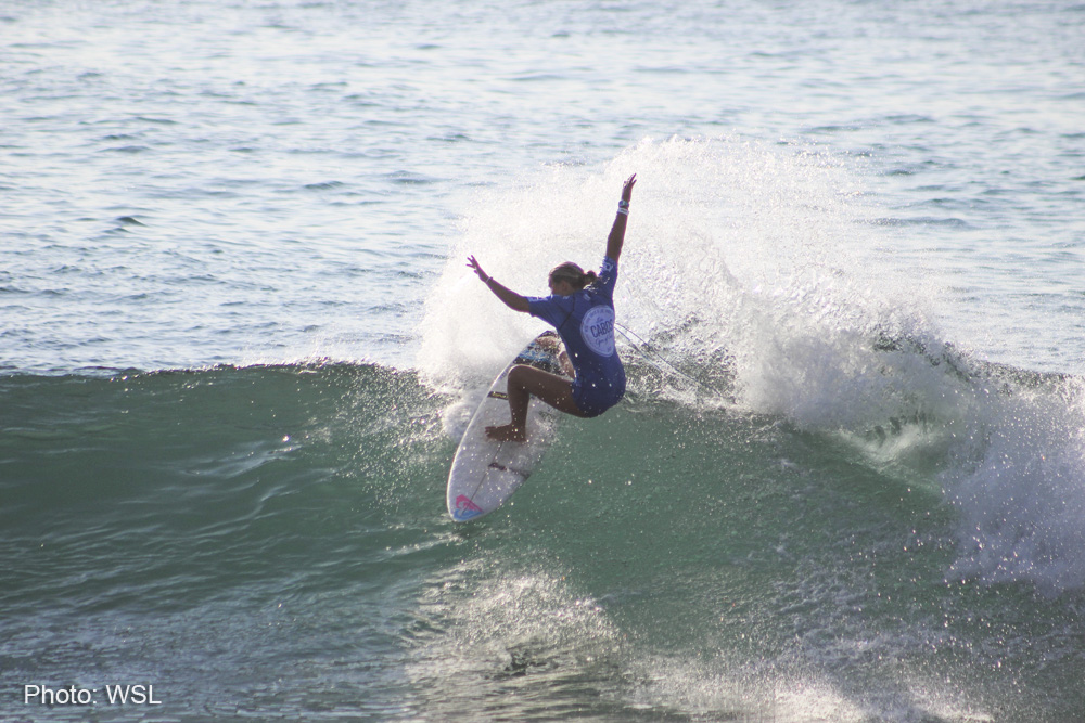 Summer Macedo is the Los Cabos Open of Surf Women's Pro Junior Champion