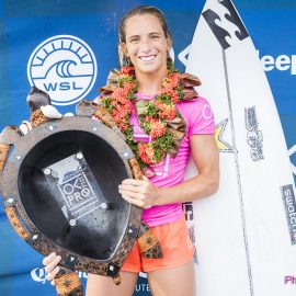 California's Courtney Conlogue wins the 2017 Outerknown Fiji Women's Pro