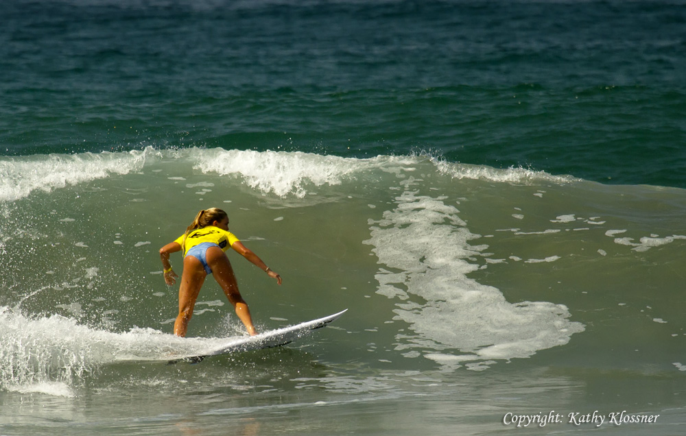 Felicity Palmateer is a surfer from Australia