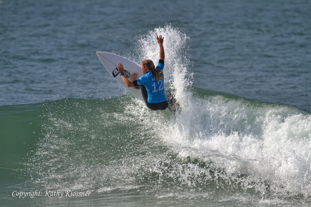 Keely Andrew takes 2nd place at the Swatch Pro 2017