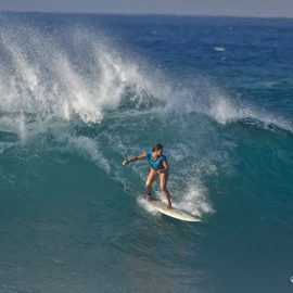 First women-only big-wave competition gets the green light