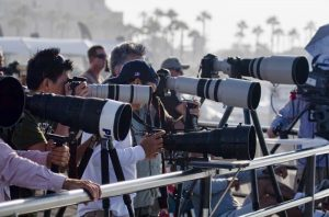 Photographers at the US Open